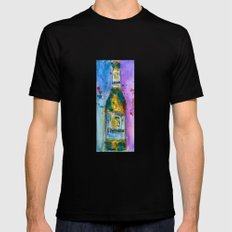 Lowenbrau Beer Mens Fitted Tee Black MEDIUM