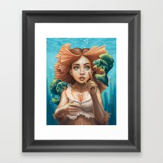 Sisters from Another Mister Framed Art Print