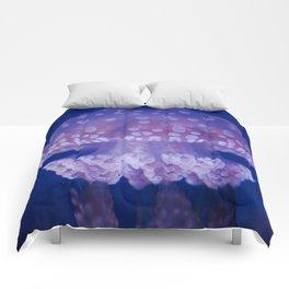 Jellyfish Mushroom Bloom - Photography Comforters