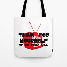 Media Hypnosis Tote Bag