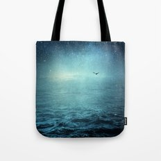 the sea and the universe Tote Bag