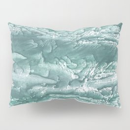 Marine color wash drawing painting Pillow Sham