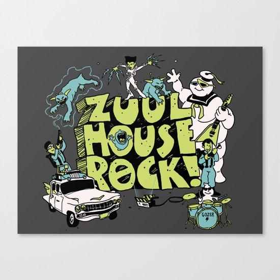 Zuul House Rock! Canvas Print