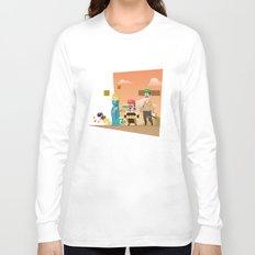 Super Mario GoT Long Sleeve T-shirt