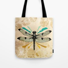 Autumn dragonfly Tote Bag