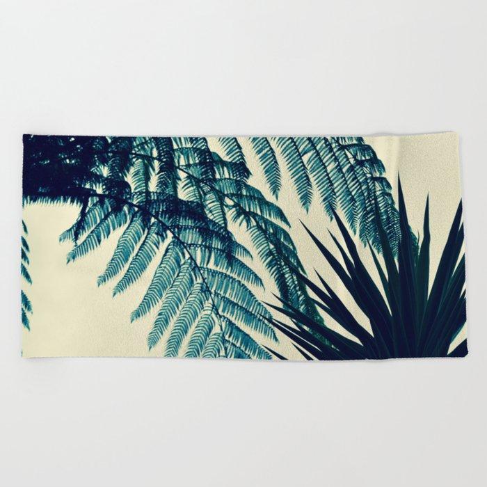 Green of the Tropics Beach Towel