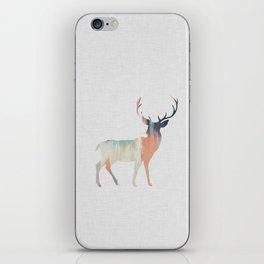 Pastel Deer iPhone Skin