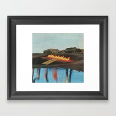 Set Yourself On Fire Framed Art Print