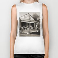 bar Biker Tanks featuring Milk Bar by SwanniePhotoArt