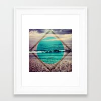 phil jones Framed Art Prints featuring Jones by Indigo22