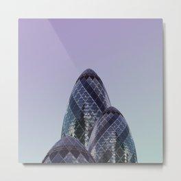 LND CLR X-10 London Colour Architecture Art Metal Print