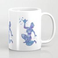 aladdin Mugs featuring Aladdin Disneys by Carma Zoe