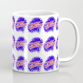 Happy 4th of July Graphic Logo Coffee Mug