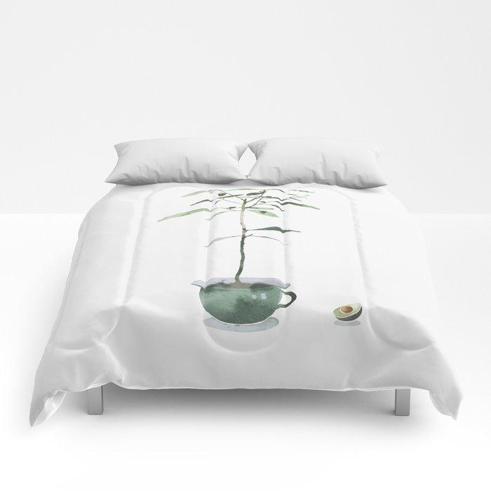 Avocado Tree Comforters