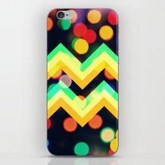 Bokeh Chevron iPhone & iPod Skin