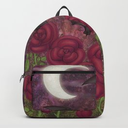 bats and roses Backpack