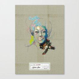 Marlena Shaw Canvas Print