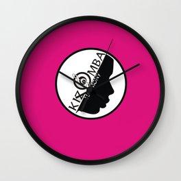 Kizomba Harmony rosa Wall Clock