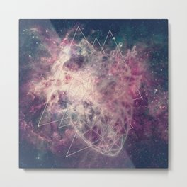 the heart of the universe Metal Print