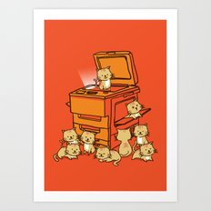 The Original Copycat Art Print