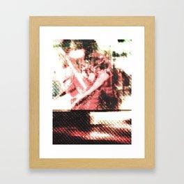 Le Procope - Glitch 02 Framed Art Print