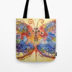 Astrazioni su ali di farfalla Tote Bag