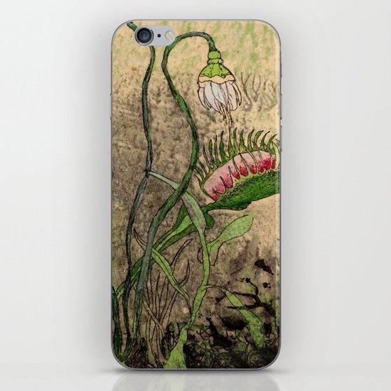 Venus Flytrap iPhone & iPod Skin