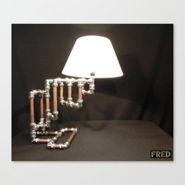 Articulated Desk Lamps - Copper and Chrome Collection - FredPereiraStudios_Page_09 Canvas Print