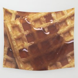 Waffles With Syrup Wall Tapestry
