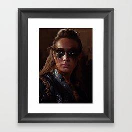 Lexa, The 100 Framed Art Print