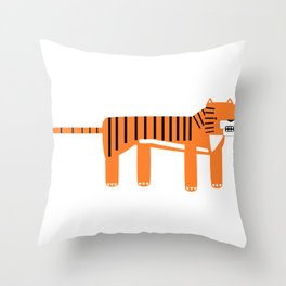 Grr. Throw Pillow