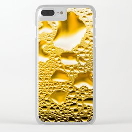 Condensation on a window Clear iPhone Case