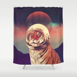 Cosmos Cat Shower Curtain