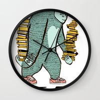 read Wall Clocks featuring READ by Zachariah  OHora