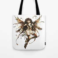 fairy Tote Bags featuring fairy by Vector Art
