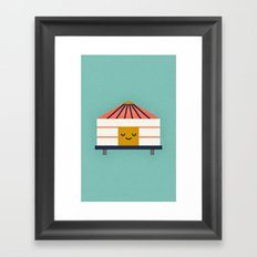 Yurt Framed Art Print