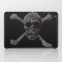 the goonies iPad Cases featuring The Goonies Movie Art Print by Skahfee Studios