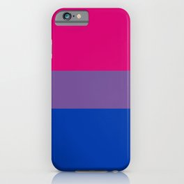 Bisexual Pride Flag iPhone Case