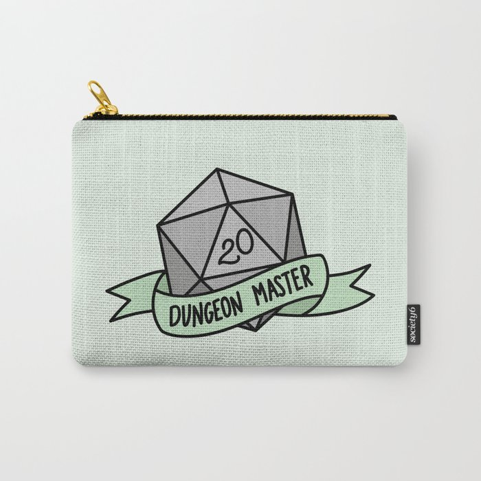 Dungeon Master D20 Carry-All Pouch