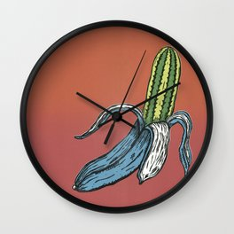 Coughing Kid Wall Clock