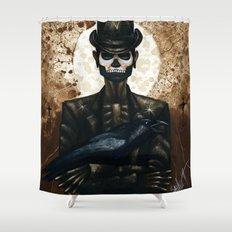 Shadow Man 2 Shower Curtain