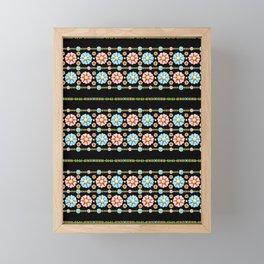 Daisy Boho Chic Framed Mini Art Print