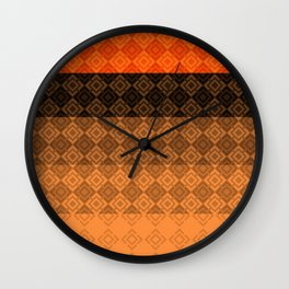 4 Abstract geometric pattern Wall Clock