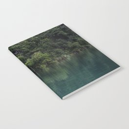 Trees on the Riverbank Notebook