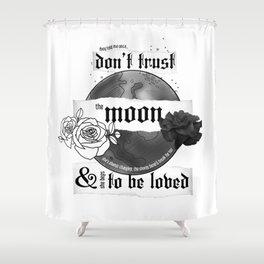Good Mourning Lyrics Shower Curtain