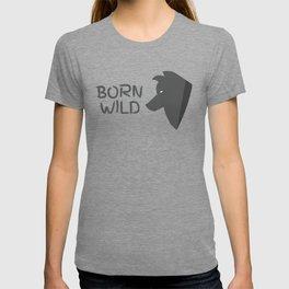 Born Wild Wolf T-shirt