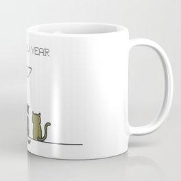 hello new year 2017! Coffee Mug