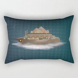 Sailing on a dream Rectangular Pillow
