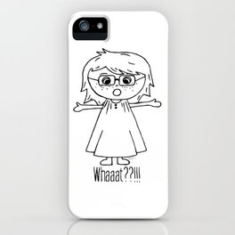 Surprised Harper iPhone Case