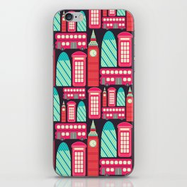 London Pattern iPhone Skin